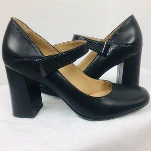 Naturalizer Leather Reva Mary Jane Heels